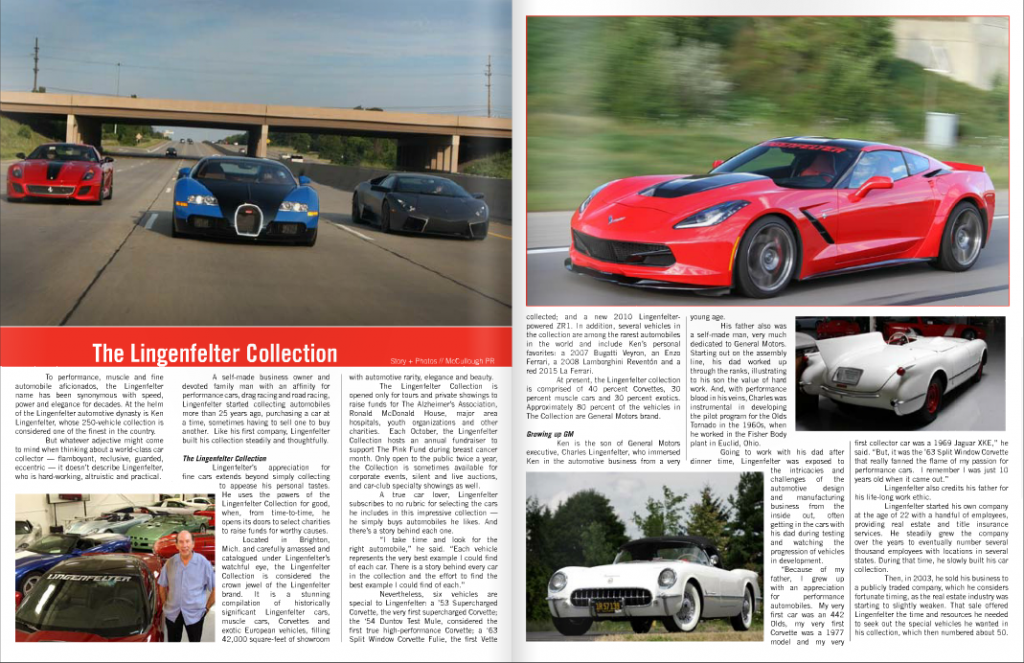Driven World Magazine - The Lingenfelter Collection