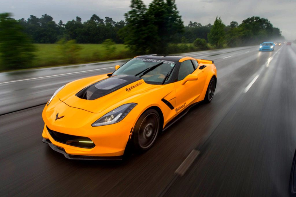Corvette Stingray From Lingenfelter And Continental Tires Joins The Hot Rod Power Tour