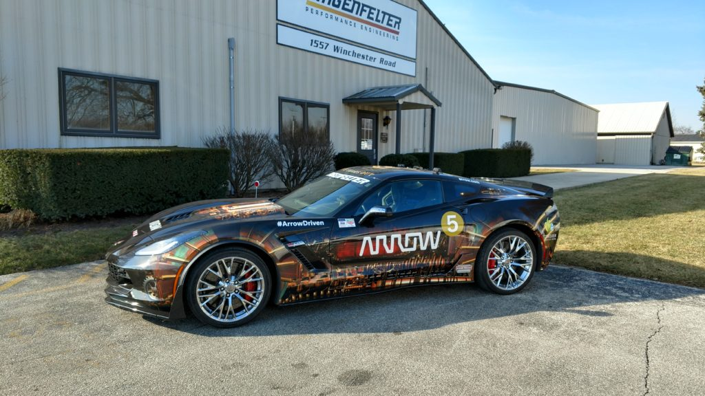 The Arrow SAM Project C7 Z06 Corvette