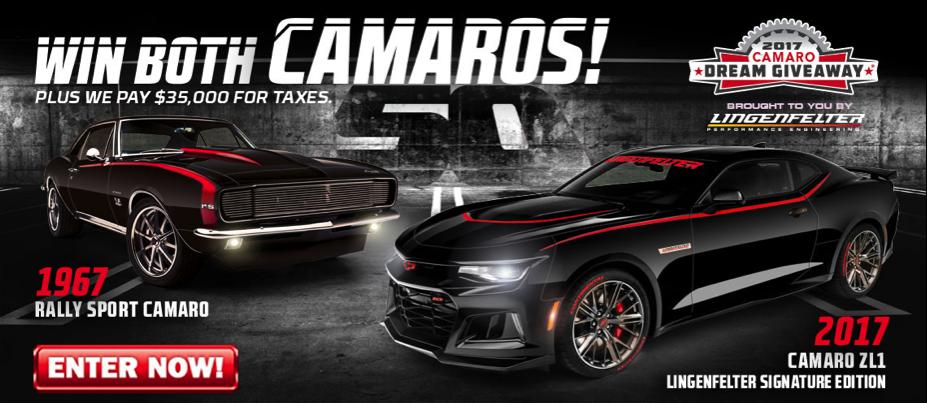 Win The Camaros!