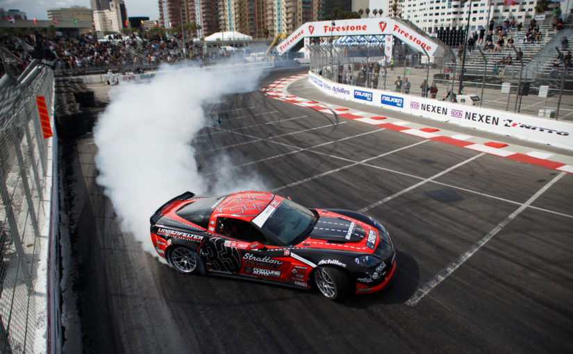 Dirk Stratton's Drifting Career is a Family Affair with his Driftvette.