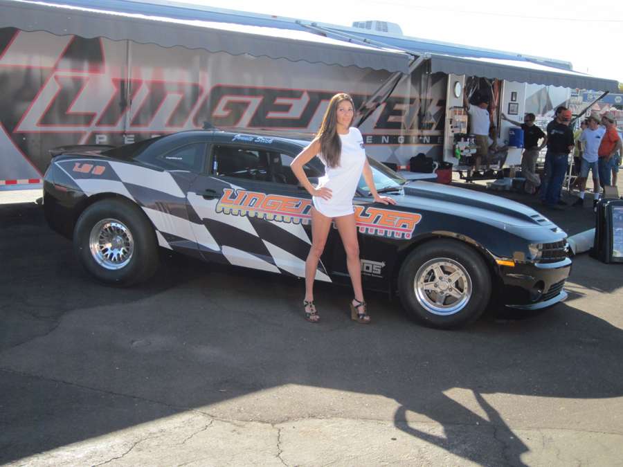 Lingenfelter Displaying Twin Turbo 800 HP LS7 Camaro L28