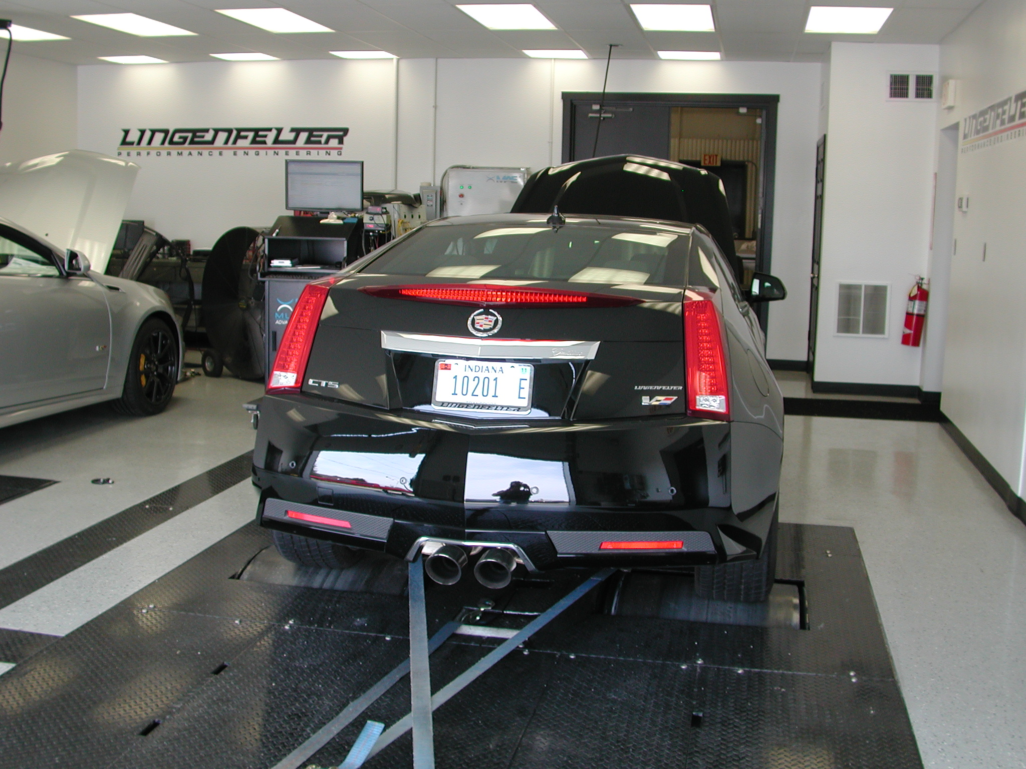 Cts Vs On Chassis Dyno Lingenfelter Performance Engineeering Fuel Filter Lpe Gt9 Camshaft And Supercharger Upper Pulley Kit 10 Overdrive Harmonic Balancer 63 Lbs Per Hour Injects K N Air 160 Thermostat