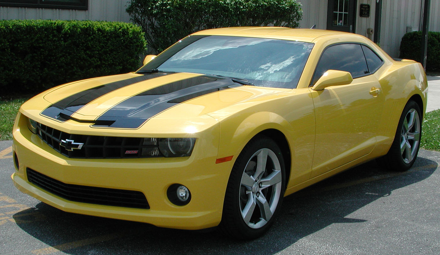 2010 Camaro Ss Painted On Stripes From Lingenfelter