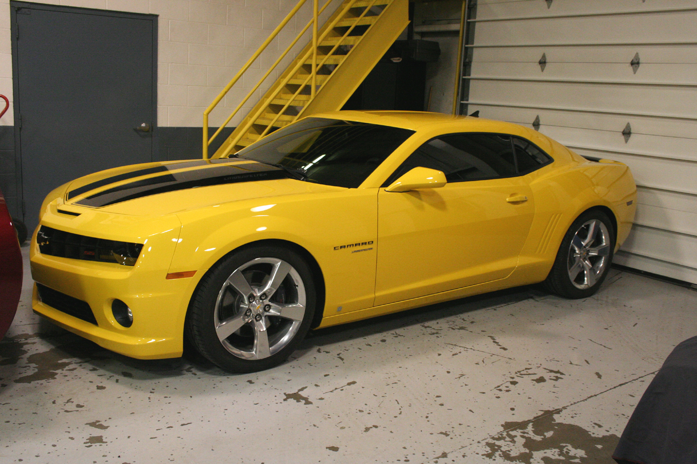 2010 camaro ss painted on stripes from lingenfelter. Black Bedroom Furniture Sets. Home Design Ideas