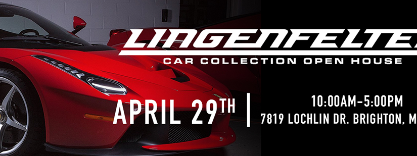 LINGENFELTER CAR COLLECTION CHARITY SPRING OPEN HOUSE Benefitting the American Cancer Society