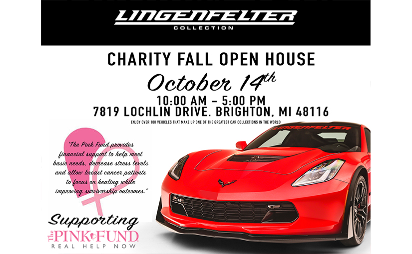 Lingenfelter Collection Charity Fall Open House 2017