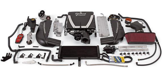 Edelbrock E Force Supercharger Kit C6 Corvette Ls3 599 Hp