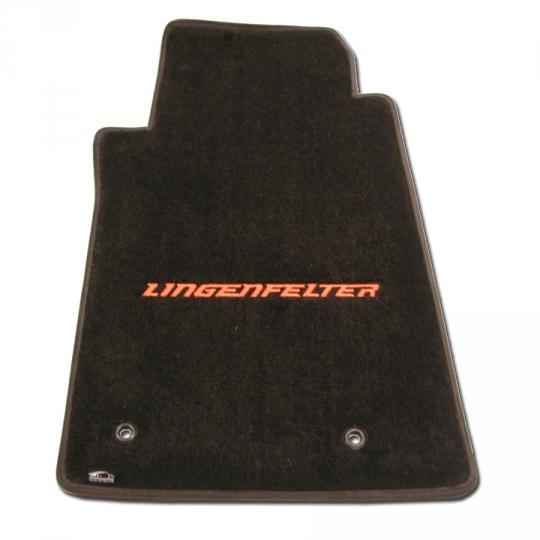 lloyds lingenfelter logo embroidered floor mats camaro 2010-14