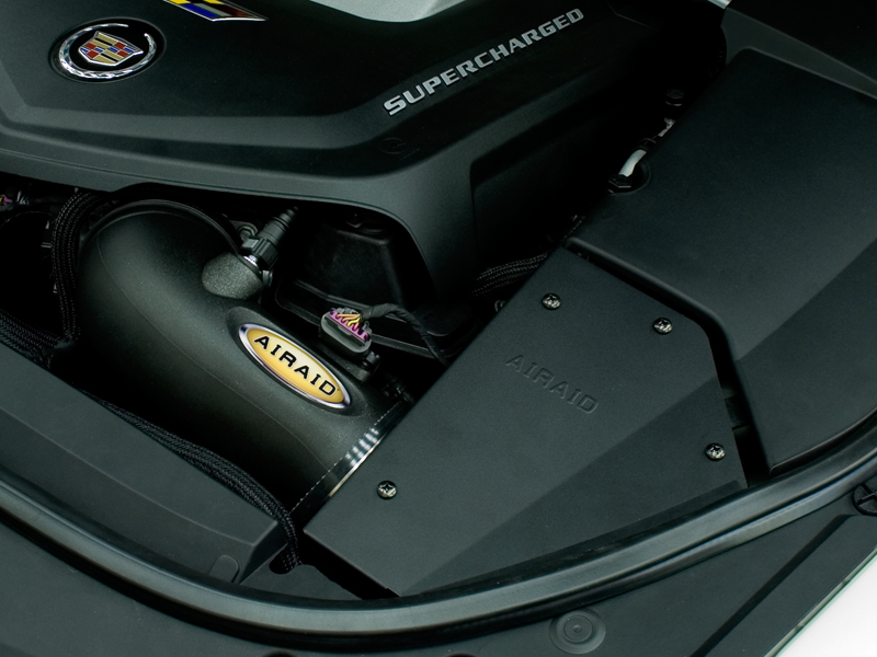 Airaid Cts V Cold Air Intake Kit Black Synthaflow 2009 13