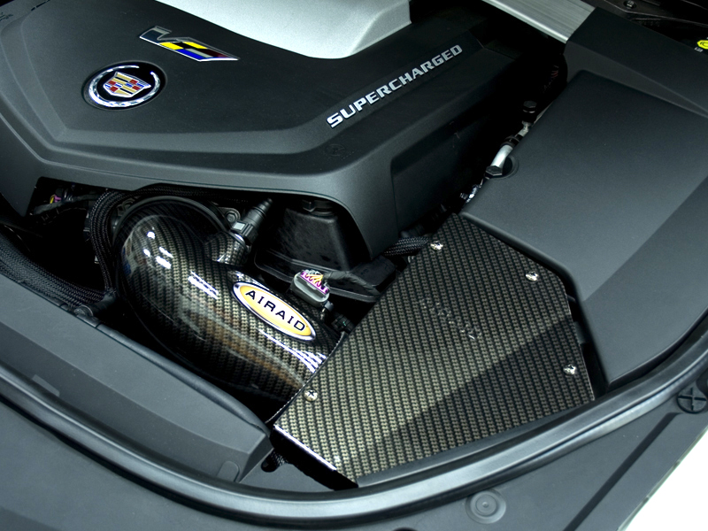 2018 Cts V >> AIRAID CTS-V Cold Air Intake Kit Carbon Fiber SynthaFlow ...