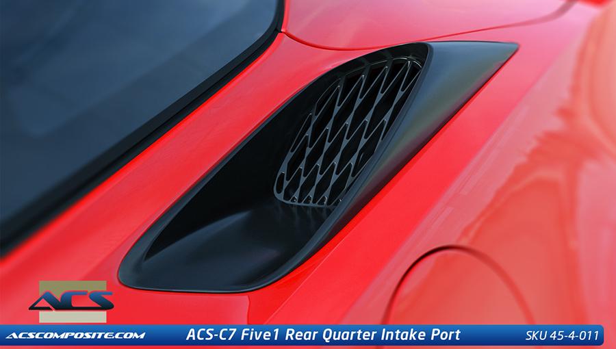 Acs C7 Corvette Stingray Zo6 Rear Quarter Inlet Port 2014 15