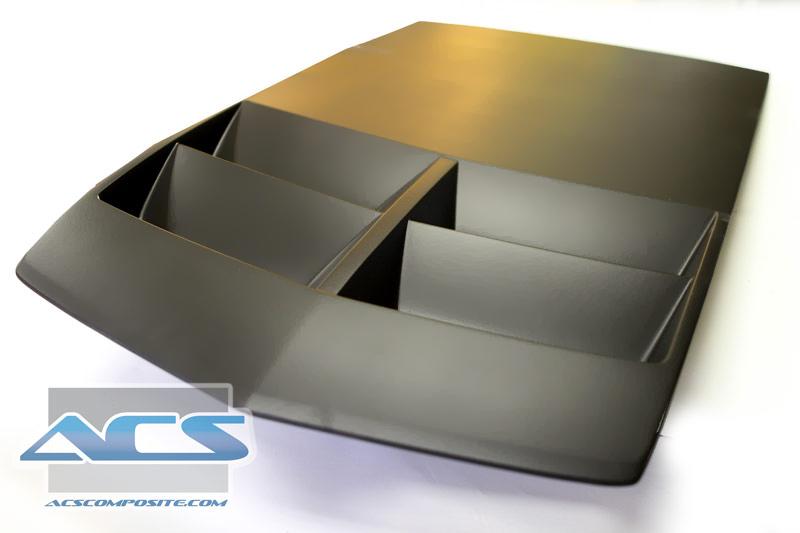 ACS Camaro SS T1 ZL1 Replica Heat Extractor Hood Insert ...