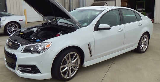 2014 Chevy Ss Engine