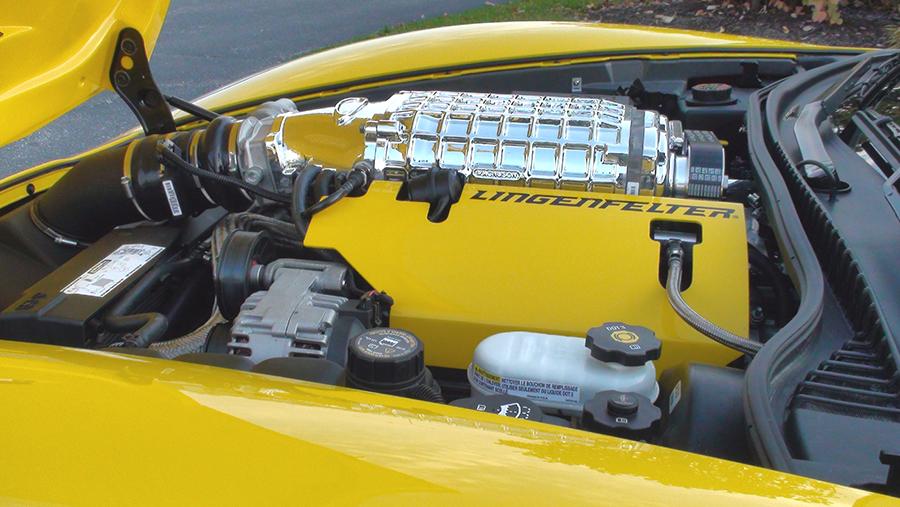 Lingenfelter C6 Corvette Aluminum Coil Covers Engine Cover