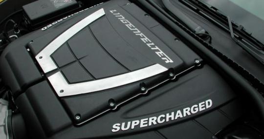 C6 Corvette ZO6 427 CID LS7 Edelbrock E-Force TVS2300 Supercharger 657 HP  2006-13
