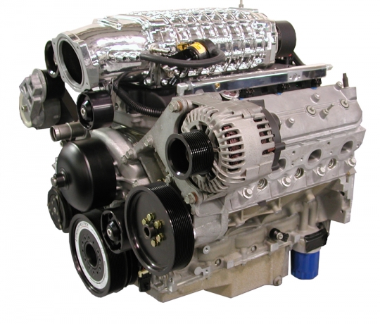 Lingenfelter LS3 417 CID 700 HP 58x 9 75 Supercharged Crate Engine