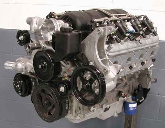Lingenfelter LS7 427 CID 650 HP 11 5 Crate Engine LS7 Heads