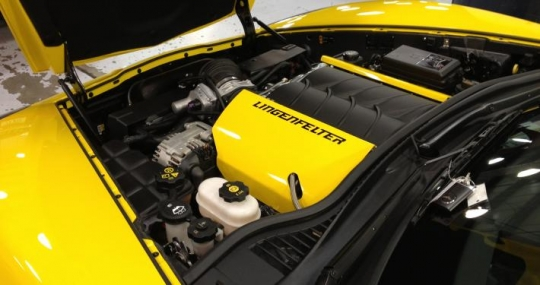 C6 Corvette 378 CID LS3 Magnuson Heartbeat TVS2300 Supercharger 670 HP  2008-13