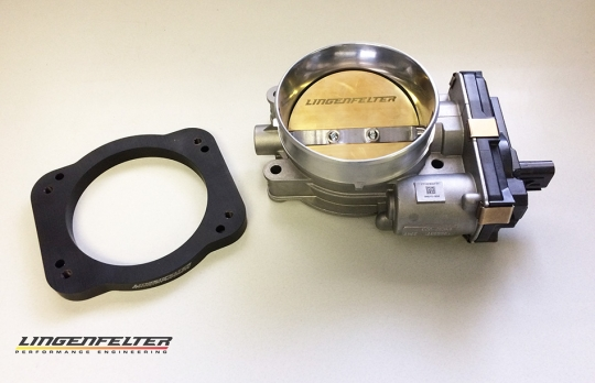 Lingenfelter Ported LT5 95 mm Throttle Body & Adapter Plate for GM Gen V V8  Applications