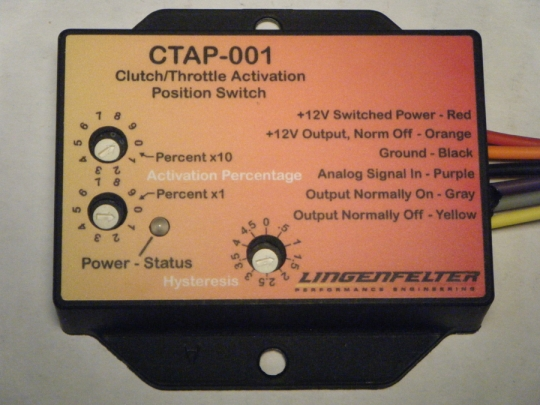 Lingenfelter Clutch & Throttle Position Activation Switch CTAP-001