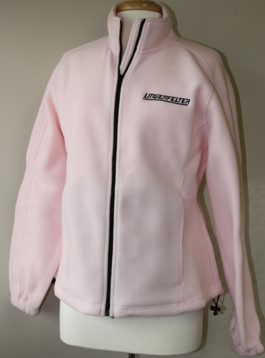 Super Soft Pink Fleece Jacket - Super Quality - Small Only