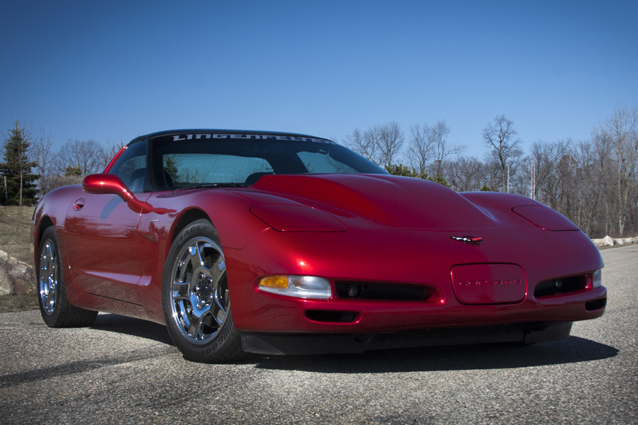 Lingenfelter C5 Corvette Edelbrock E Force Supercharger