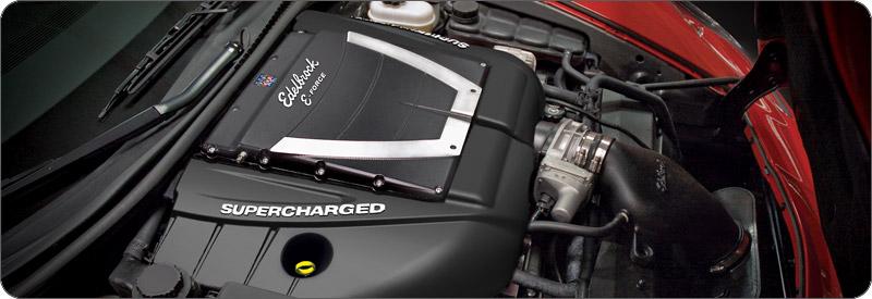 Edelbrock E-Force Supercharger Kit 2006-2012 C6 ZO6 ...