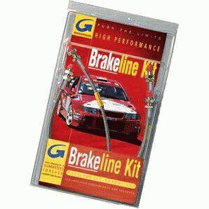 Goodridge Stainless Steel Braided Brake Lines Corvette 2005-2008