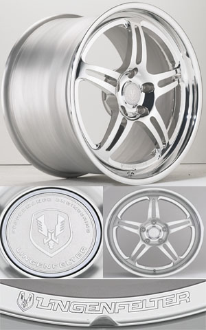 Lingenfelter 756 Series Three Piece Forged Aluminum Wheels by HRE - lingenfelter.com