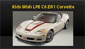 Kids Wish Network ZR1 Corvette