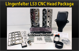 LPE LS3 CNC Heads & Cam Kit